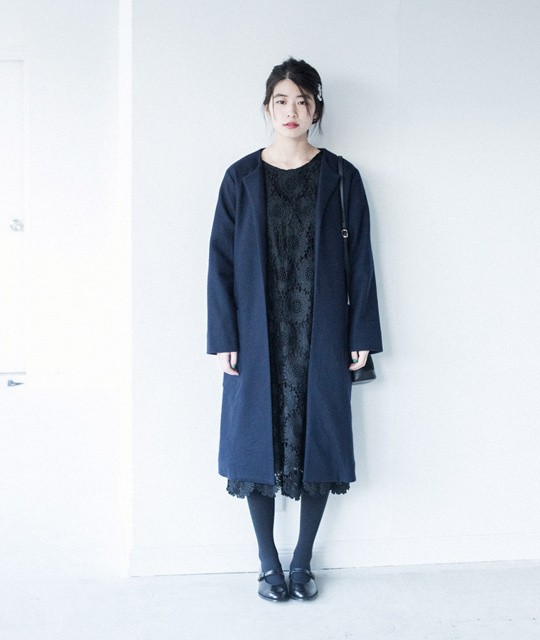 formal style for winter -冬のフォーマルスタイル-