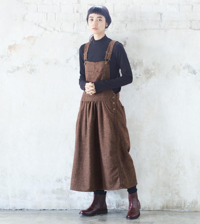 リンネル12月号掲載 】秋→冬のリラックススタイル| ナチュラル
