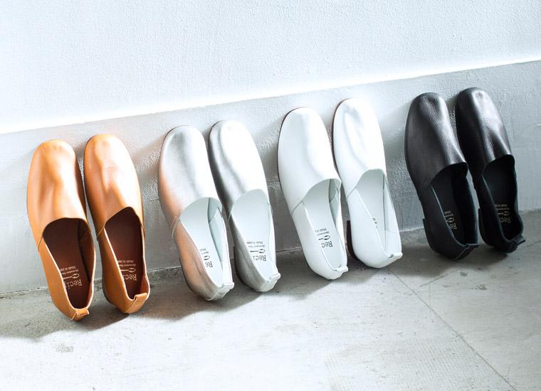 【 Recipe / レシピ 】足がよろこぶ靴Recipe 新作コレクション