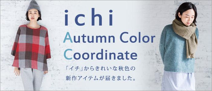 ichi Autumn Color Coordinate