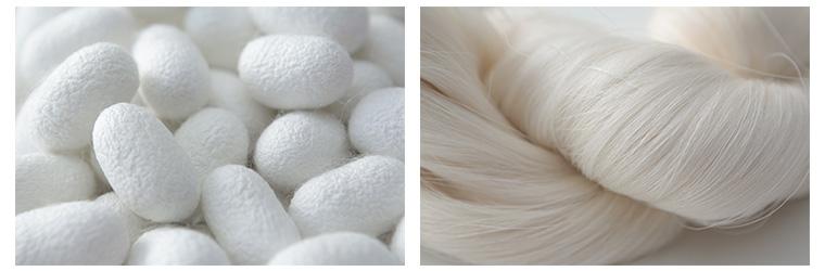 「第2の肌」と呼ばれる 天然繊維 シルク 特徴