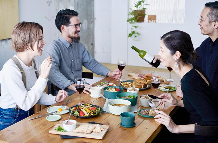 9°  amabro 冷凍・冷蔵保存 レンジ調理  食器 図 富山  SPS樹脂 食卓