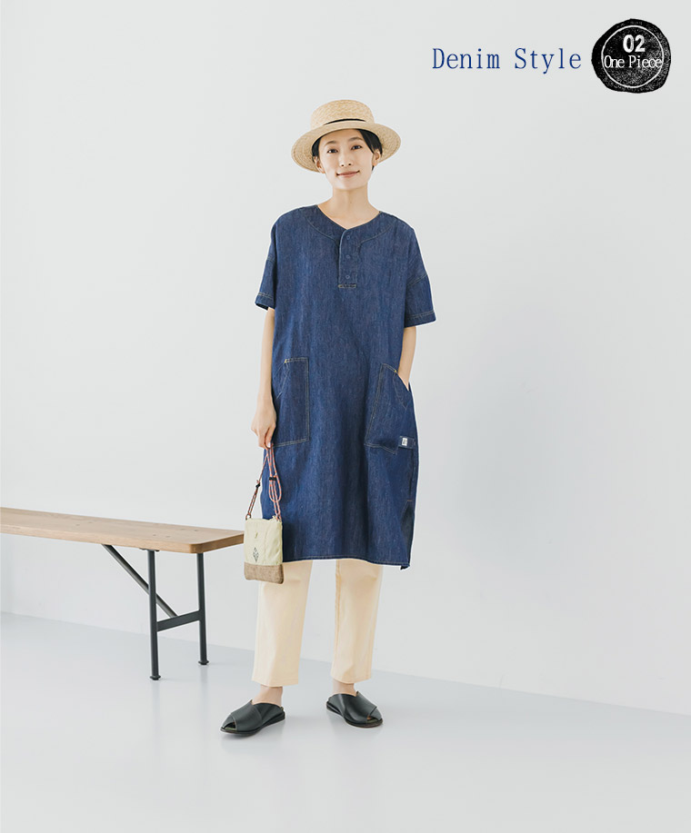 NORTHERN TRUCK 特集 デニムスタイルワンピース