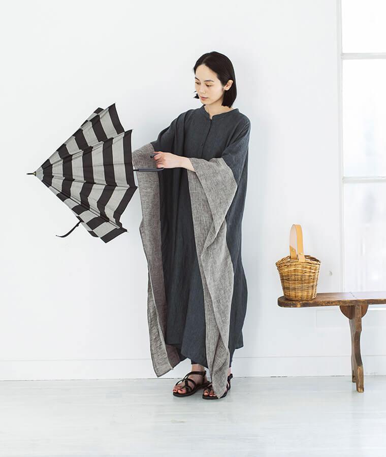 【 &yarn 】オリジナルベルギーリネンワンピース特集 スタイル3