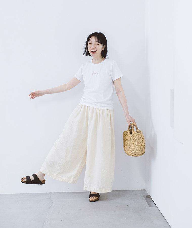 【 ichi 】リネンデニムシリーズ パンツ