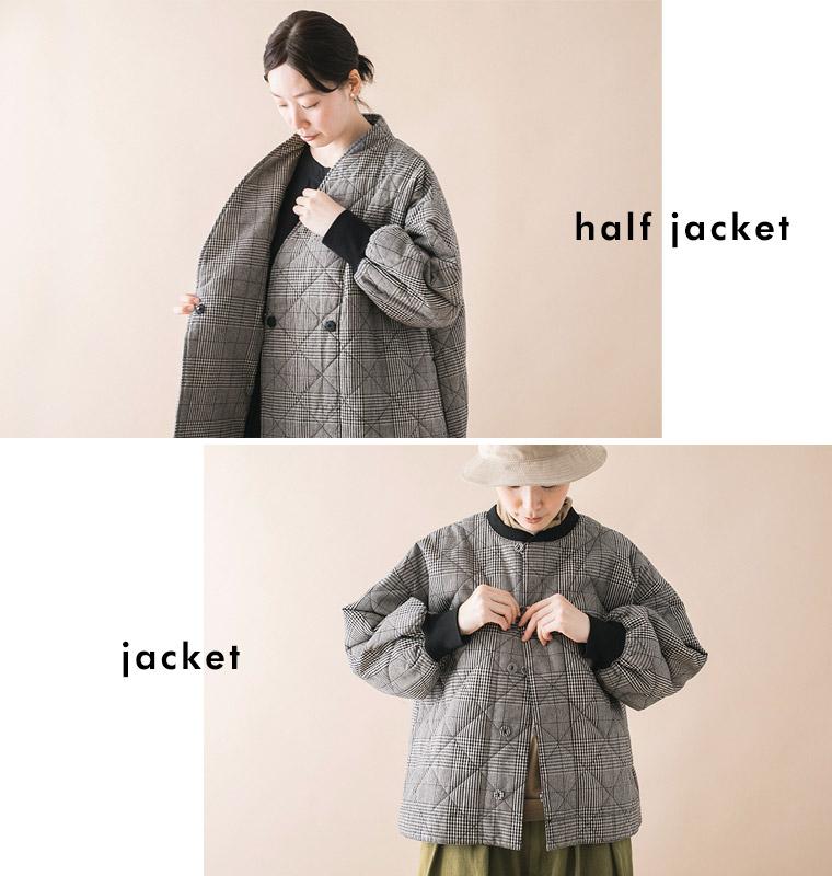 オリジナルのグレンチェックジャケット